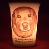 Genuine Mourninglight memorial candle