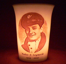 Mourninglight wedding memorial candle