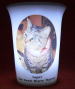 White LED battery light Mourninglight™ memorial candle
